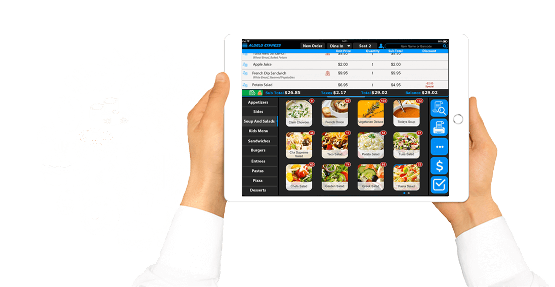 iPad POS for Buffet