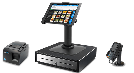 Aldelo Express iPad POS Set with Pinter and Payment Device